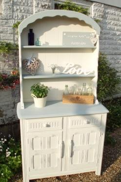 shabby chic, dresser, painted furniture, kent, sevenoaks,