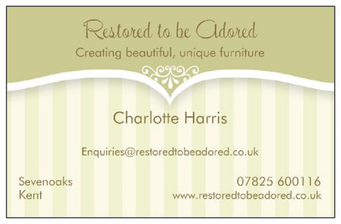 Business cards large restored to be adored business cards large painted furniture reheart Images