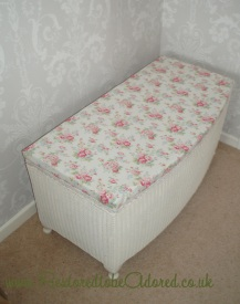 Vintage furnitur, painted furniture, shabby Chic furniture, unique furniture, Pretty Furniture, Upcyle, laura ashley, Lloyd loom