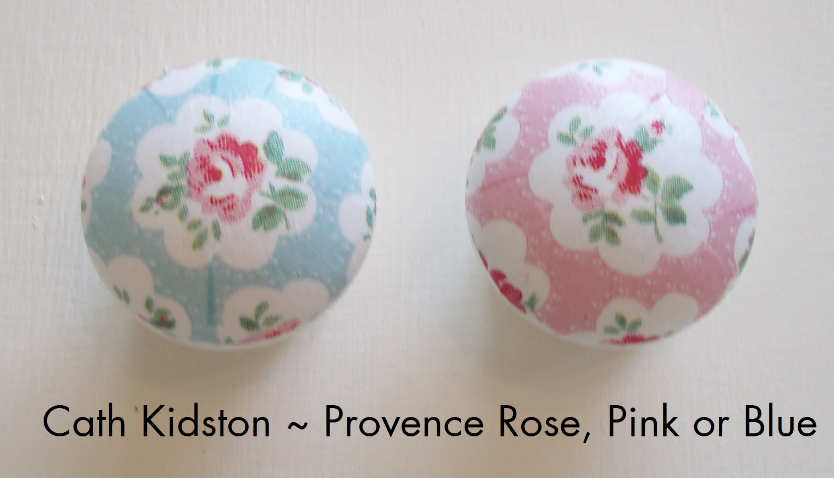 Decoupage Door And Draw Handles Cath Kidston Paper