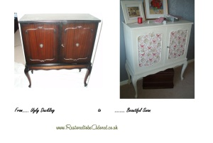 shabby chic furniture, decoupage furniture, commissions