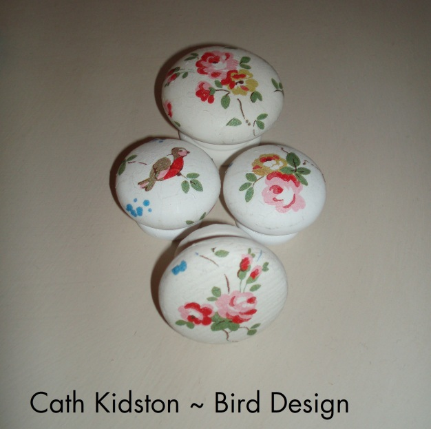 Cath Kidston decoupage door and draw knobs