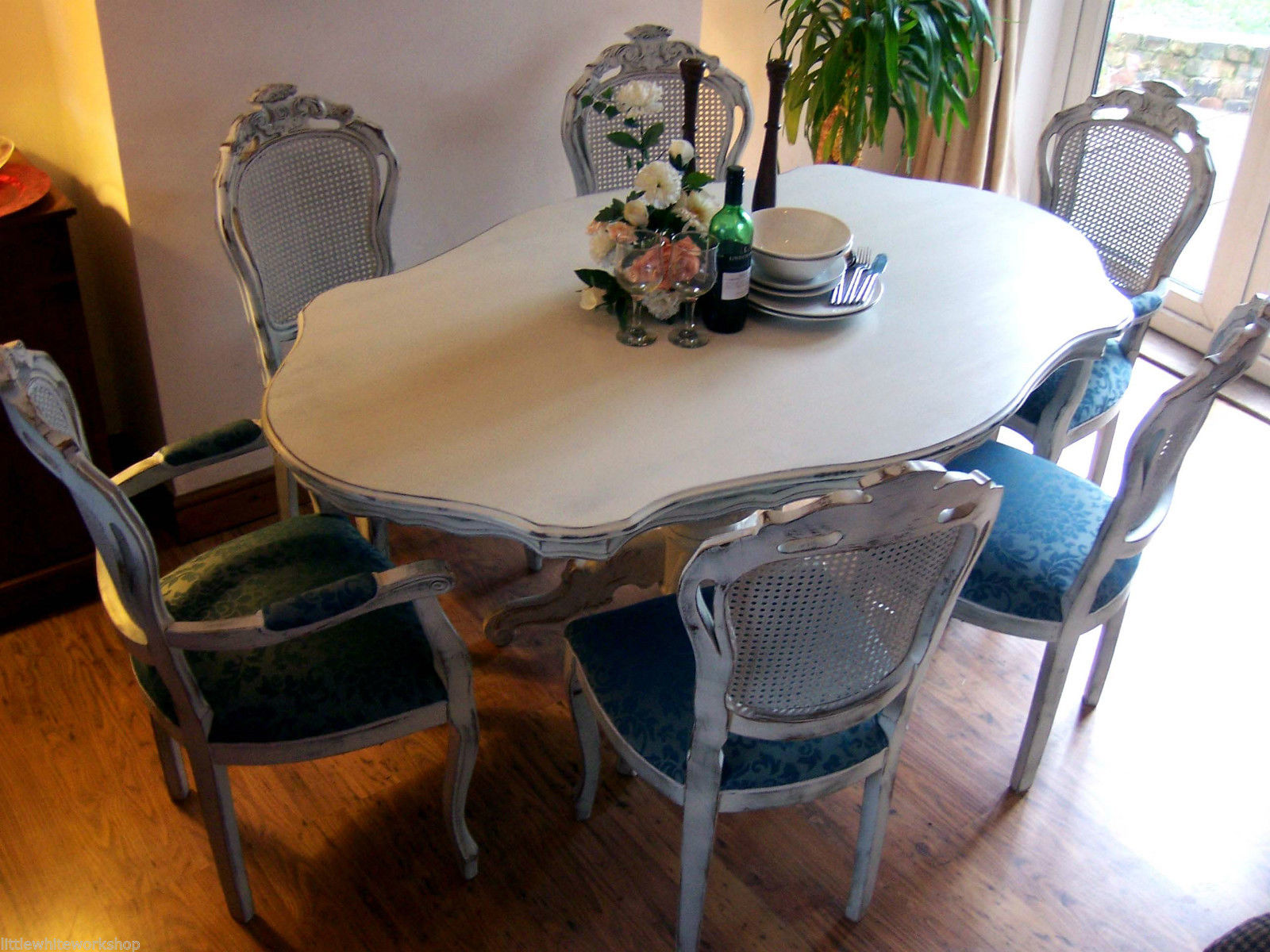 Shabby Chic Breakfast Table: Restored To Be Adored