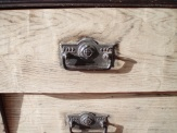vintage draw handles, painted furniture