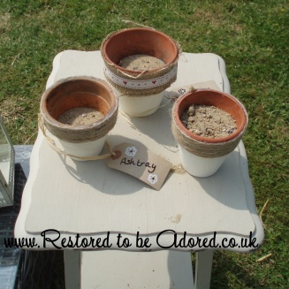 Shabby Chic Ashtrays